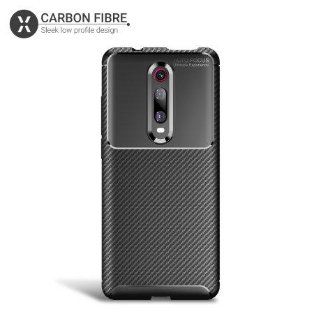 Olixar Carbon Fibre Xiaomi Redmi K20 Pro Case - Black