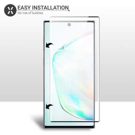 Olixar Samsung Galaxy Note 10 Tempered Glass Screen Protector