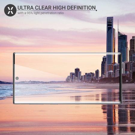 Olixar Samsung Galaxy Note 10 Tempered Glass Screen Protector