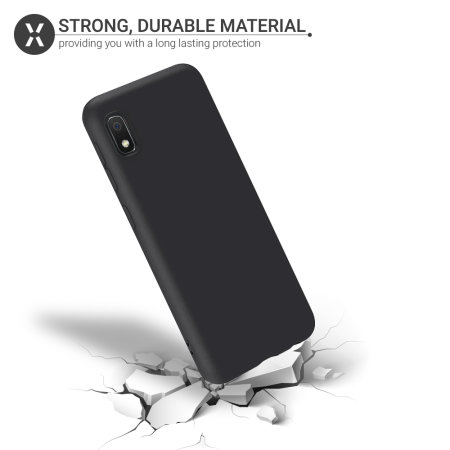 Olixar Samsung Galaxy A10e Soft Silicone Case - Black