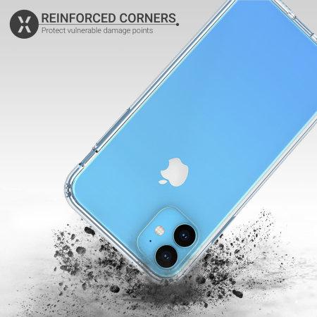 Olixar ExoShield Tough Snap-on iPhone 11 Case - Crystal Clear