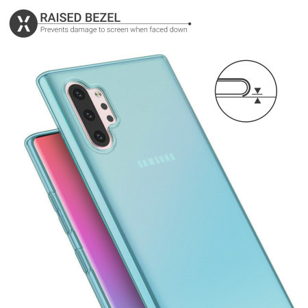 Olixar FlexiShield Samsung Galaxy Note 10 Plus Gel Case - Blue