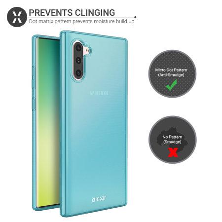 Olixar FlexiShield Samsung Galaxy Note 10 Gel Case - Blue