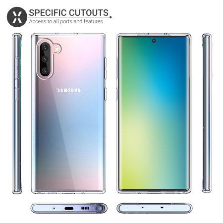 Olixar Ultra-Thin Samsung Galaxy Note 10 Case - 100% Clear