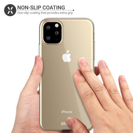 Olixar Ultra-Thin iPhone 11 Pro Max Case - 100% Clear