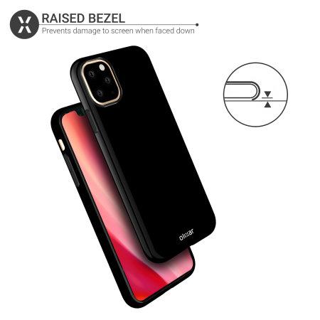 Olixar FlexiShield iPhone 11 Pro Max Gel Case - Solid Black