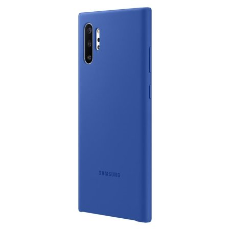 Official Samsung Galaxy Note 10 Plus Silicone Cover Case - Blue