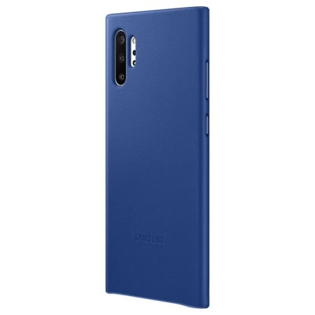Official Samsung Galaxy Note 10 Plus Leather Cover Case - Blue