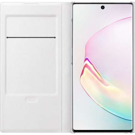 Official Samsung Galaxy Note 10 LED View Cover Case - White
