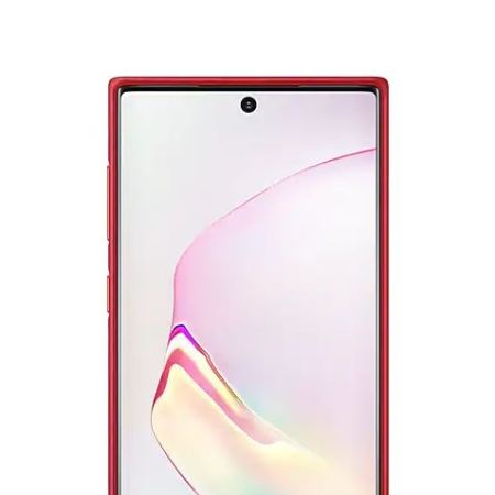 Official Samsung Galaxy Note 10 Leather Cover Case - Red