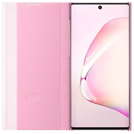 Offizielle Samsung Galaxy Note 10 Plus Clear View - Rosa