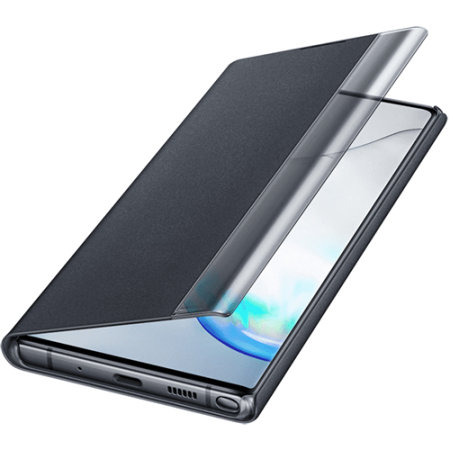 Official Samsung Galaxy Note 10 Clear View Case - Black