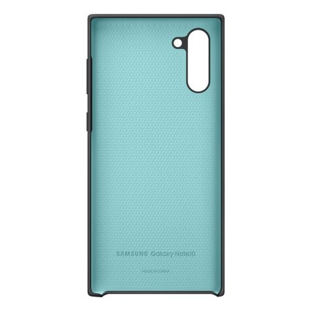 Official Samsung Galaxy Note 10 Silicone Cover - Black