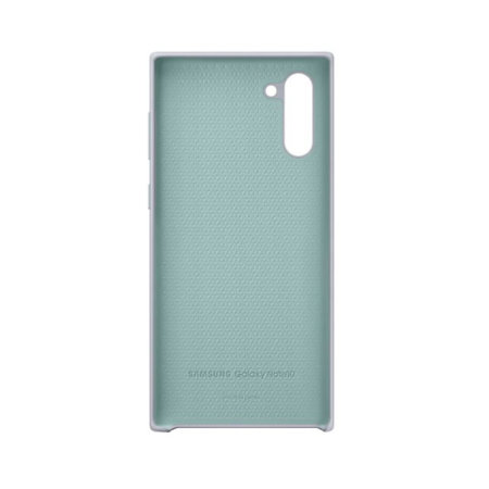 Official Samsung Galaxy Note 10 Silicone Cover - Silver