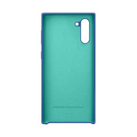 Official Samsung Galaxy Note 10 Silicone Cover - Blue