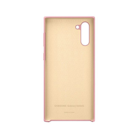 Official Samsung Galaxy Note 10 Silicone Cover - Pink