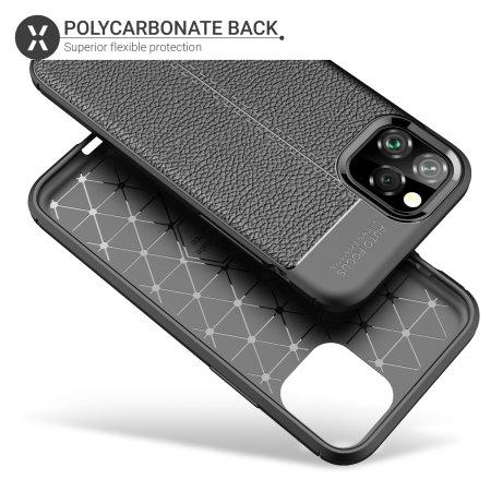 Olixar Attache iPhone 11 Pro Leather-Style Protective Case - Black