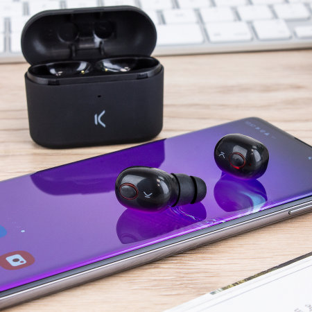 Ksix Free Pods True Wireless Earphones with Microphone - Black