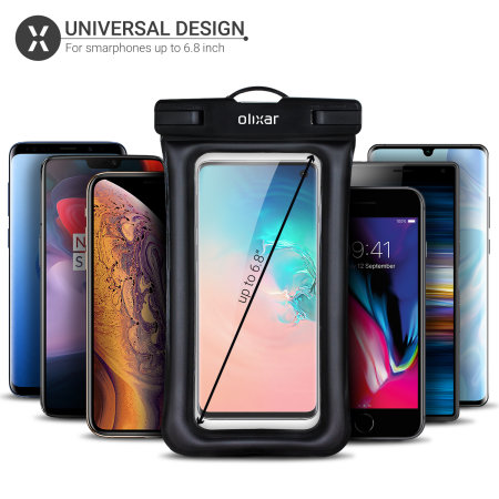 Olixar Samsung Galaxy A50 Waterproof Pouch - Black