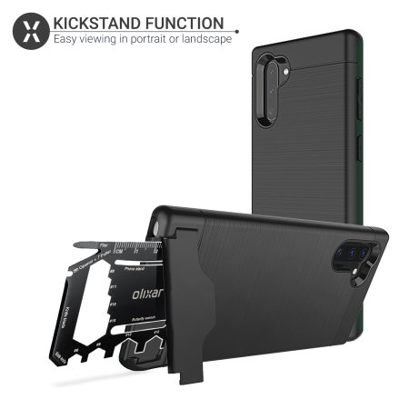 Olixar X-Ranger Samsung Galaxy Note 10 Survival Case - Tactical Black