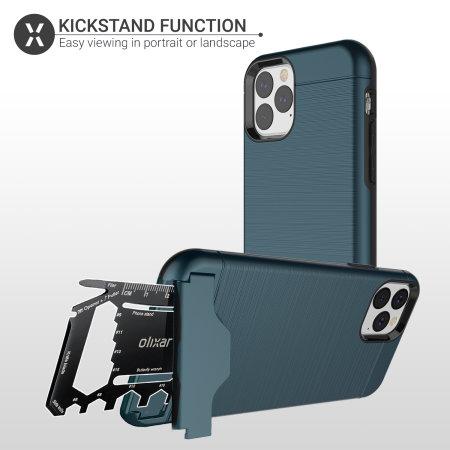 Olixar X-Ranger iPhone 11 Pro Tough Case - Marine Blue
