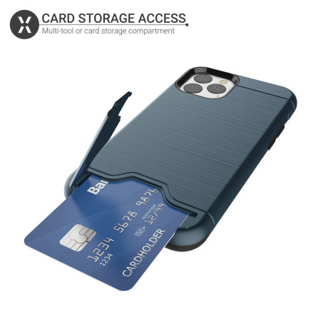 Olixar X-Ranger iPhone 11 Pro Max Tough Case - Marine Blue