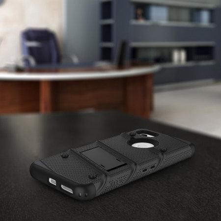 Zizo Bolt Google Pixel 3A Tough Case & Screen Protector - Black