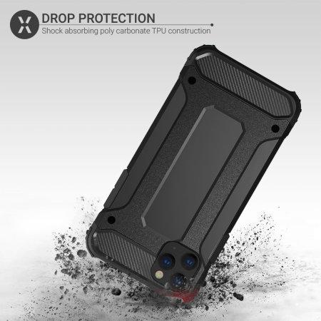 Olixar Delta Armour Protective iPhone 11 Pro Max Case - Black