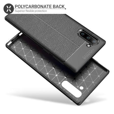 Olixar Attache Samsung Galaxy Note 10 Leather-Style Case - Black
