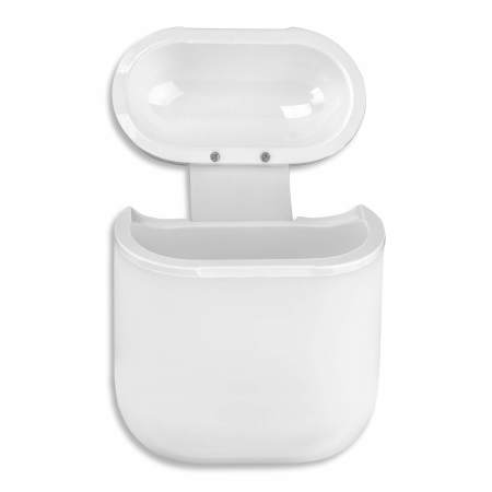 4Smarts AirPods Wireless Charging Case for Gen 1 and 2 - White