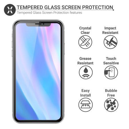 Olixar iPhone 11 Pro Anti-Blauw Gehard Glas Screenprotector