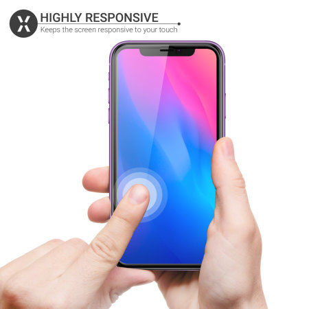 Olixar iPhone 11 Anti-Blue Ray Tempered Glass Screen Protector