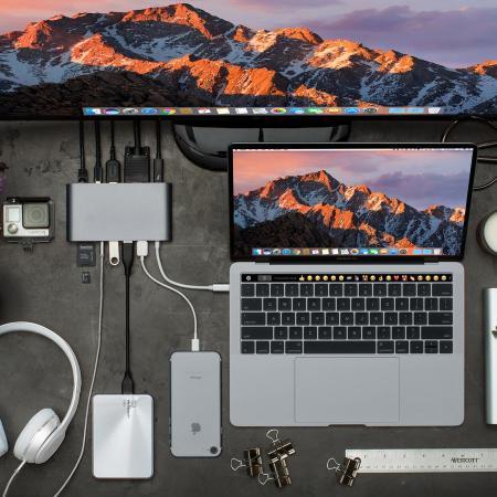HyperDrive Ultimate 11-in-1 PC & MacBook USB-C Hub - Space Grey