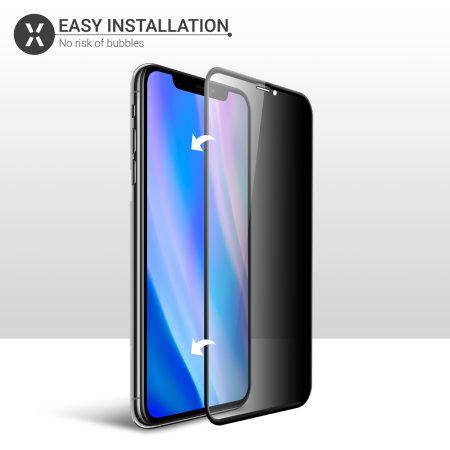 Protector de Pantalla iPhone 11 Pro Olixar Cristal Templado Privacidad