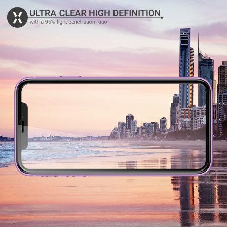 Protector de Pantalla iPhone 11 Olixar Protección Completa Cristal