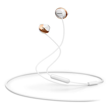 Philips Flite Hyprlite Earphones with Microphone - White