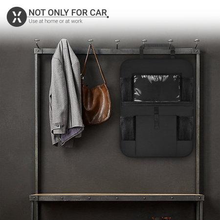 "Olixar Car Seat Organiser With 10"" Tablet Window"