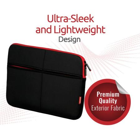 """Promate Ultra-Sleek Lightweight Sleeve for Laptops Up To 15.6"""""""