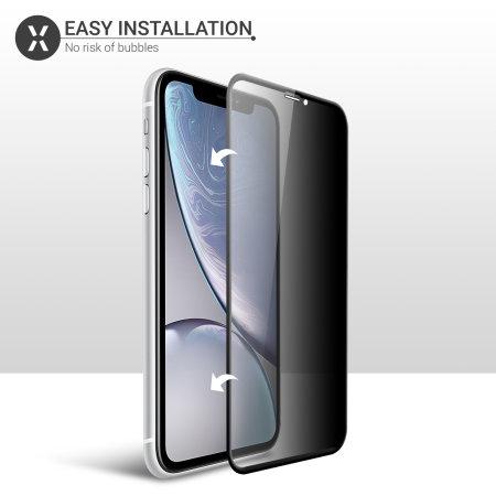 Protector de Pantalla iPhone 11 Olixar Cristal Templado Privacidad