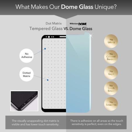 Whitestone Dome Samsung Galaxy Note 10 Screen Protector - Glass
