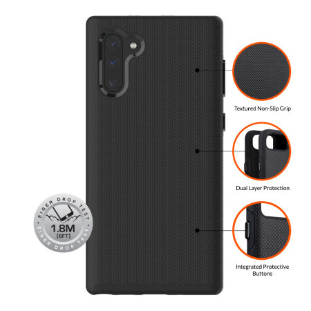 Eiger North Case for Samsung Galaxy Note 10 Plus 5G - Black