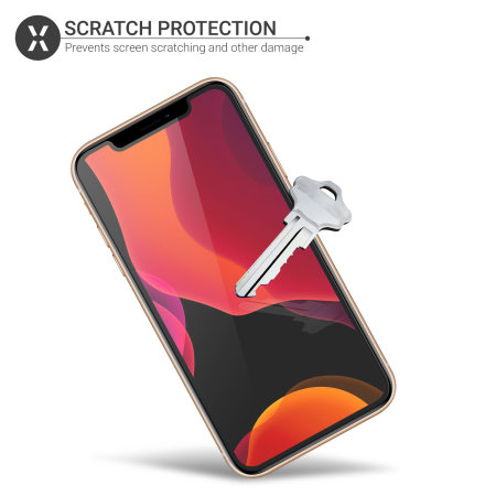 Olixar iPhone 11 Pro Screen Protector 2-in-1 Pack - Film