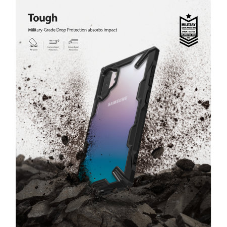 Ringke Fusion X Samsung Galaxy Note 10 Plus Case - Black