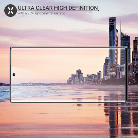Olixar Samsung Galaxy Note 10 Plus 5G PET Curved Screen Protector