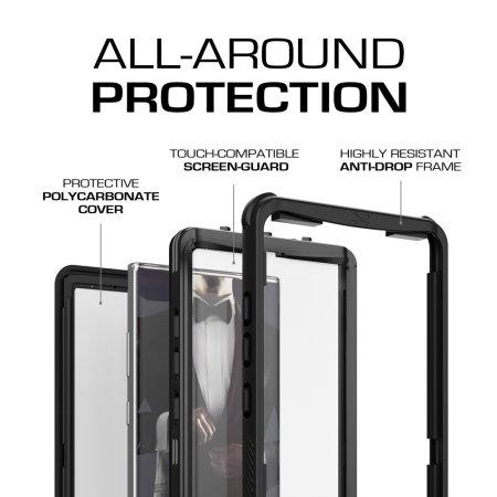 Ghostek Nautical 2 Samsung Galaxy Note 10 Plus Waterproof Case - Black