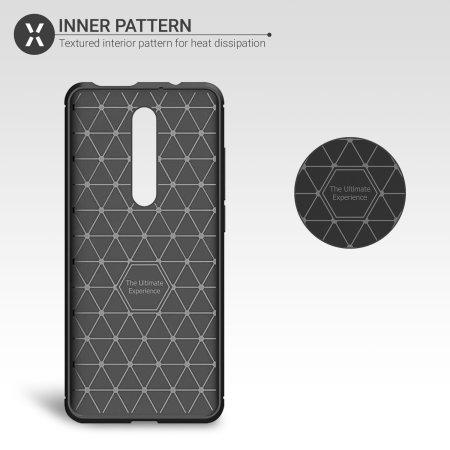 Olixar Sentinel Xiaomi K20 Pro Case and Glass Screen Protector - Black