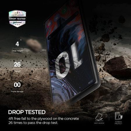 VRS Design Damda Single Fit Samsung Note 10 Case - Black