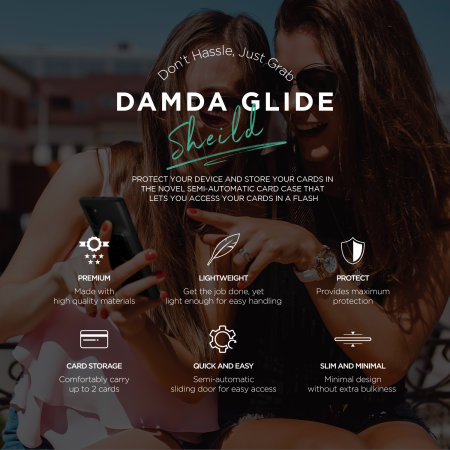 VRS Damda Glide Shield Samsung Note 10 Plus Tough Case - Black Marble