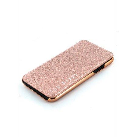Ted Baker Folio Glitsie iPhone 11 Pro Flip Mirror Case - Pink