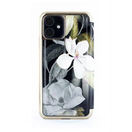 Ted Baker Folio Opal iPhone 11 Case - Black